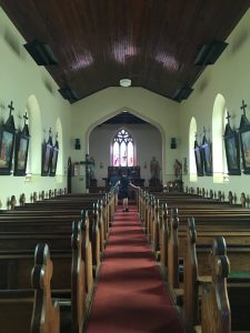 Inside St. Johns Church, Richmond, Tasmania