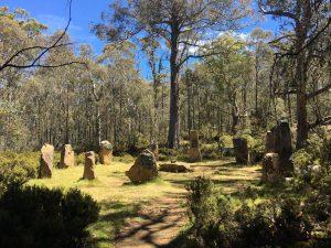 Steppes Sculptures, Tasmania
