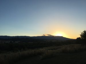 Sunset - Mole Creek