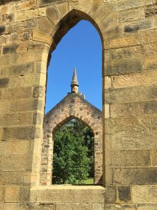 Church windows, Port Arthur